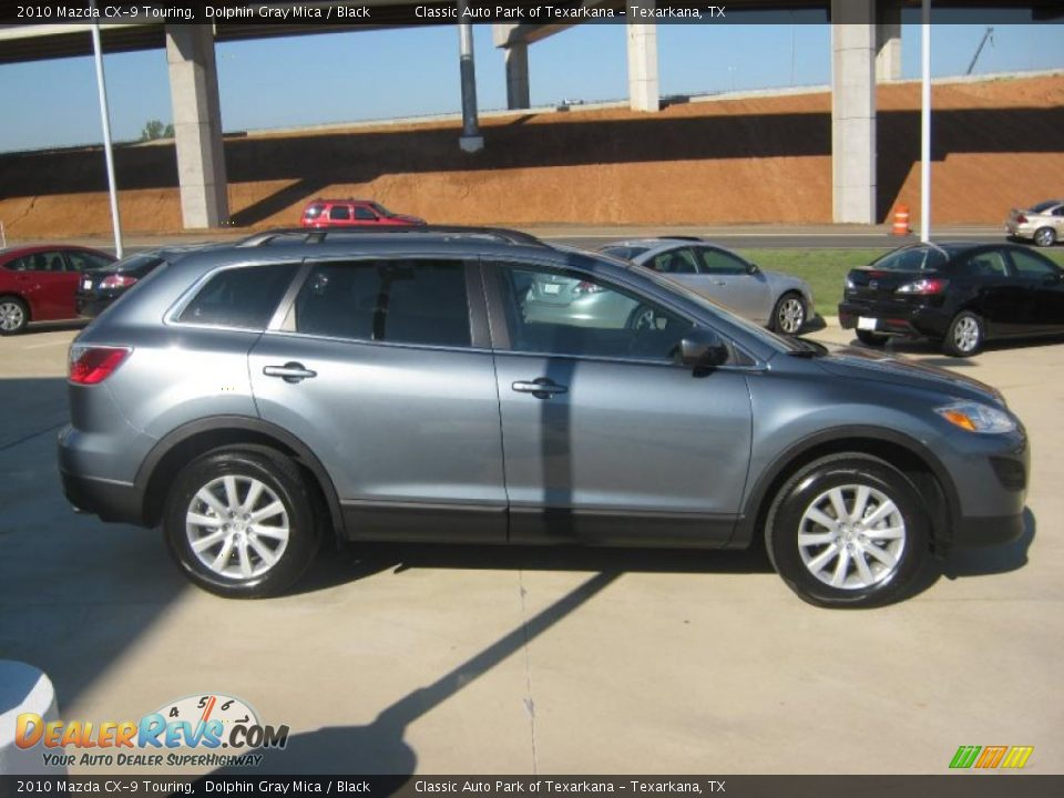2010 mazda cx 9 touring dolphin gray mica black photo 6. Black Bedroom Furniture Sets. Home Design Ideas