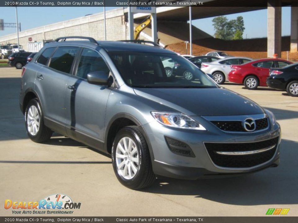 2010 mazda cx 9 touring dolphin gray mica black photo 7. Black Bedroom Furniture Sets. Home Design Ideas