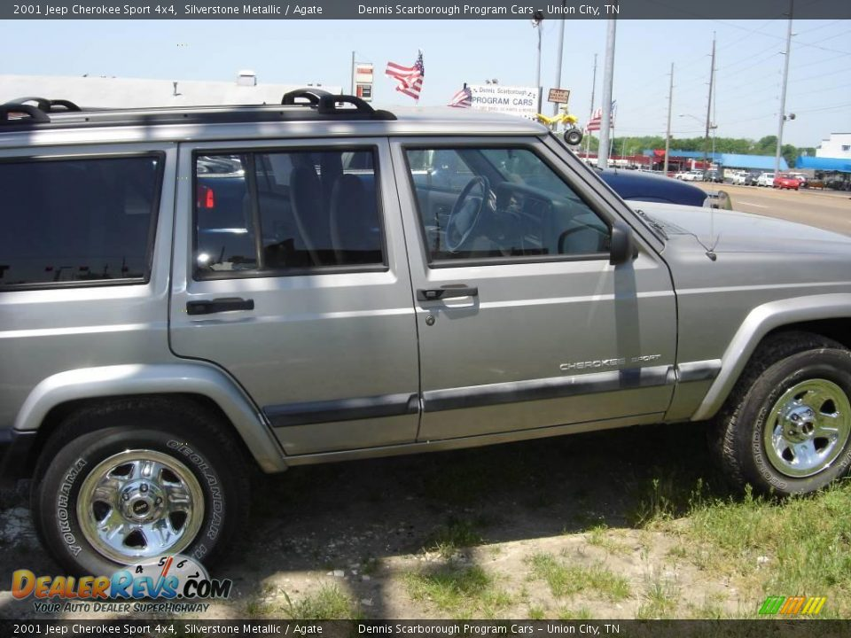 2001 jeep cherokee sport 4x4 silverstone metallic agate photo 18. Cars Review. Best American Auto & Cars Review