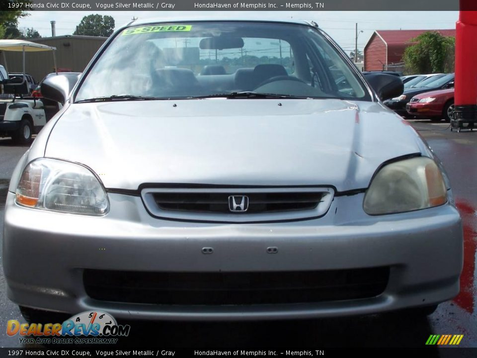 1997 honda civic dx coupe vogue silver metallic gray photo 7. Black Bedroom Furniture Sets. Home Design Ideas