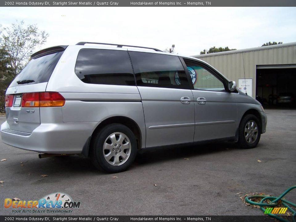 Honda New Cars >> 2002 Honda Odyssey EX Starlight Silver Metallic / Quartz ...