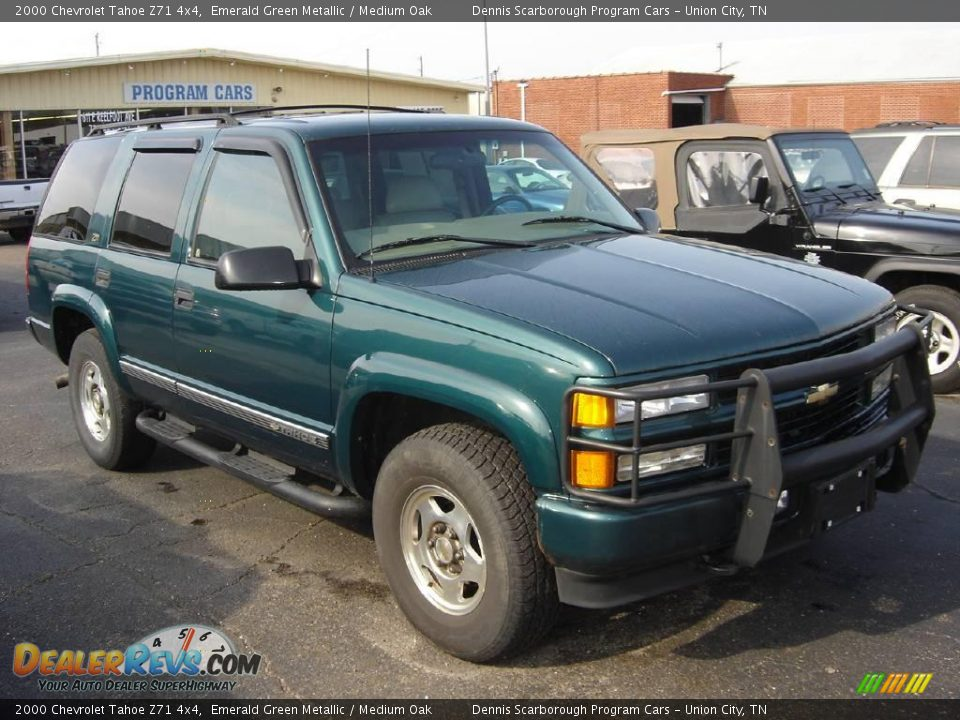 2000 Chevrolet Tahoe Z71 4x4 Emerald Green Metallic