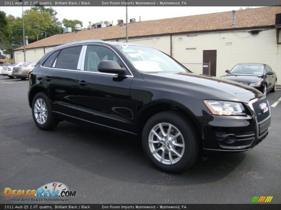 2011 Audi Q5 2.0T quattro Brilliant Black / Black Photo #6 ...