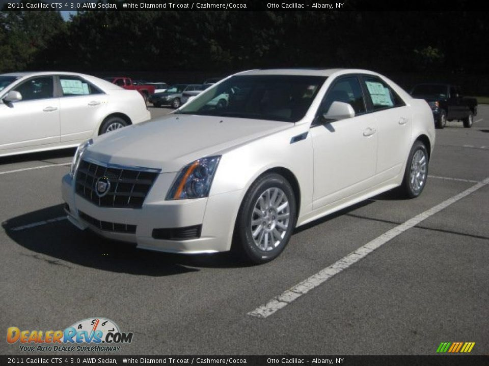 Used Cadillac Cts Coupe >> 2011 Cadillac CTS 4 3.0 AWD Sedan White Diamond Tricoat ...