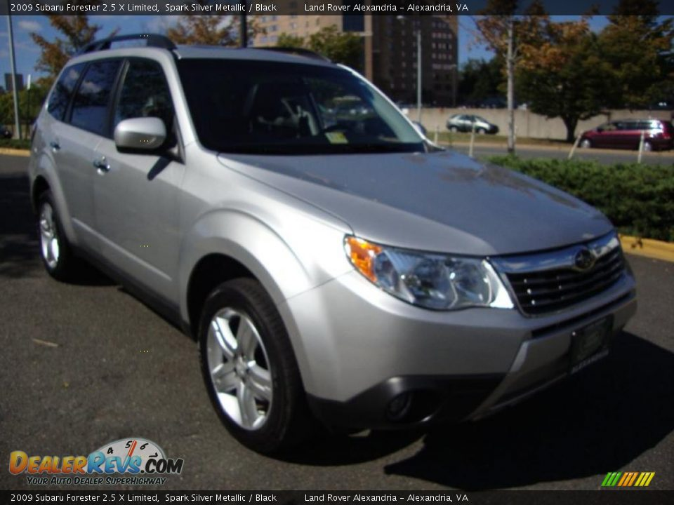 2009 subaru forester 2 5 x limited spark silver metallic black photo 7. Black Bedroom Furniture Sets. Home Design Ideas