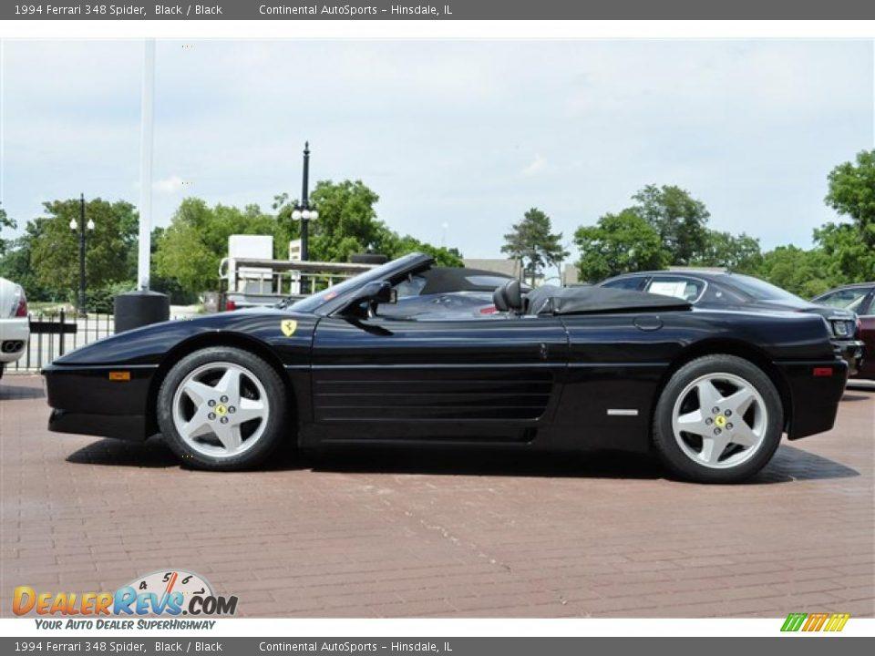 1994 Ferrari 348 Spider Black Black Photo 2
