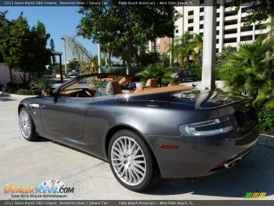 2011 Aston Martin Db9 Volante Meteorite Silver Sahara