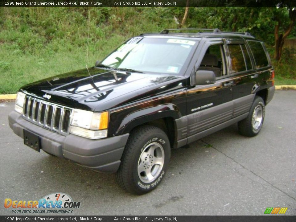 1998 jeep grand cherokee laredo 4x4 black gray photo 1 dealerrevs. Cars Review. Best American Auto & Cars Review