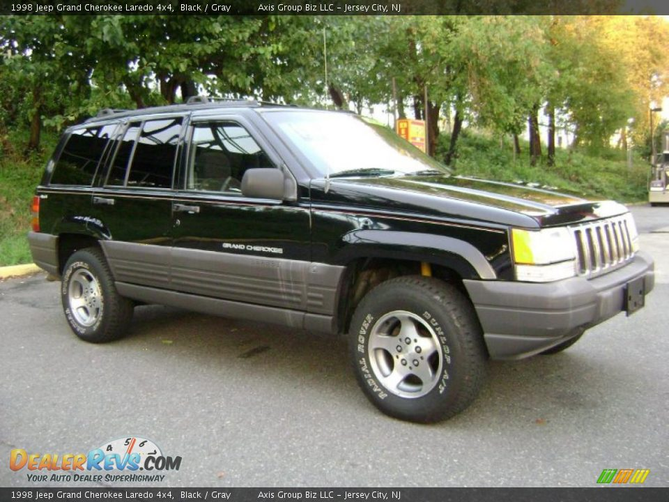 1998 jeep grand cherokee laredo 4x4 black gray photo 5. Black Bedroom Furniture Sets. Home Design Ideas