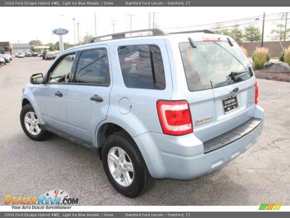 2009 ford escape hybrid 4wd light ice blue metallic. Black Bedroom Furniture Sets. Home Design Ideas