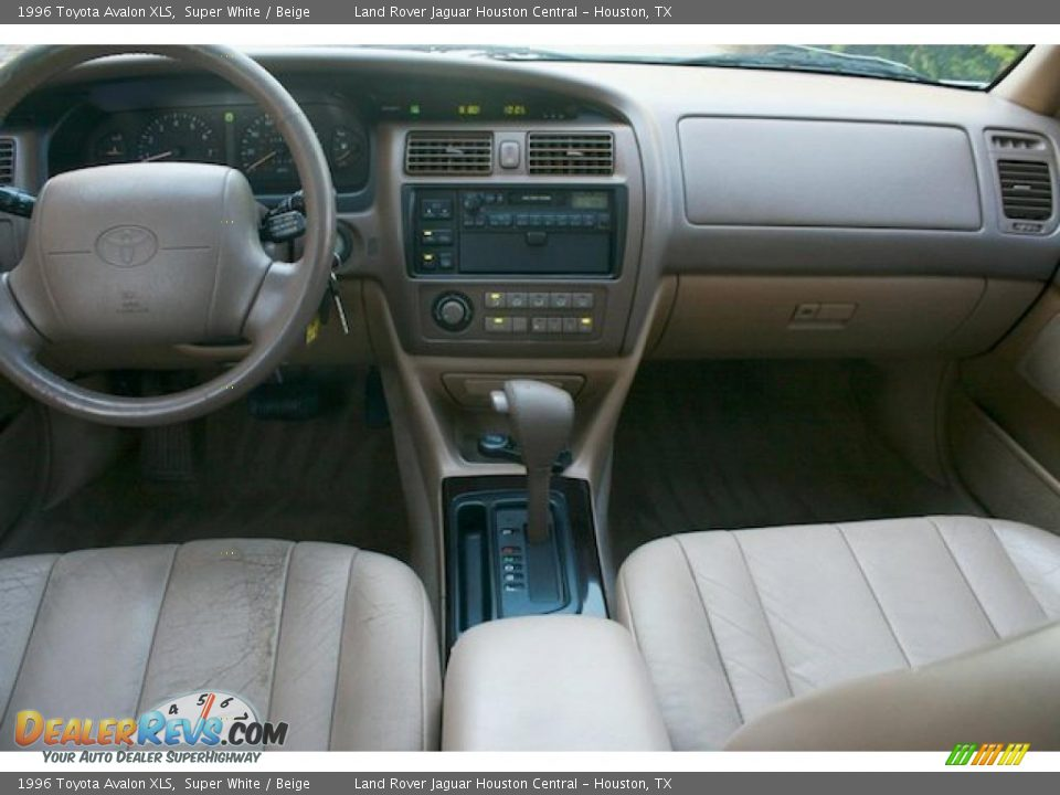 1996 Toyota Avalon Xls Super White Beige Photo 5