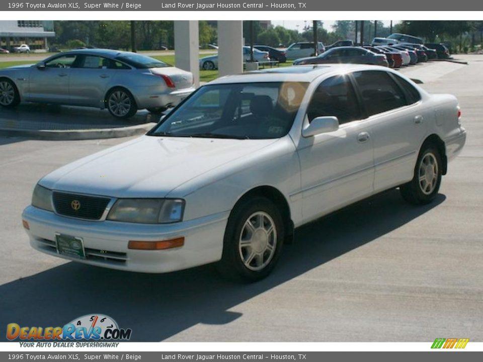 1996 Toyota Avalon Xls Super White Beige Photo 7