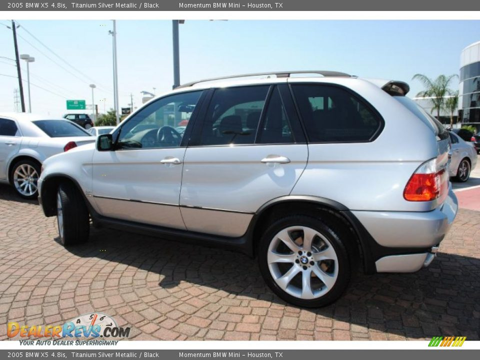 2005 Bmw X5 4 8is Titanium Silver Metallic Black Photo