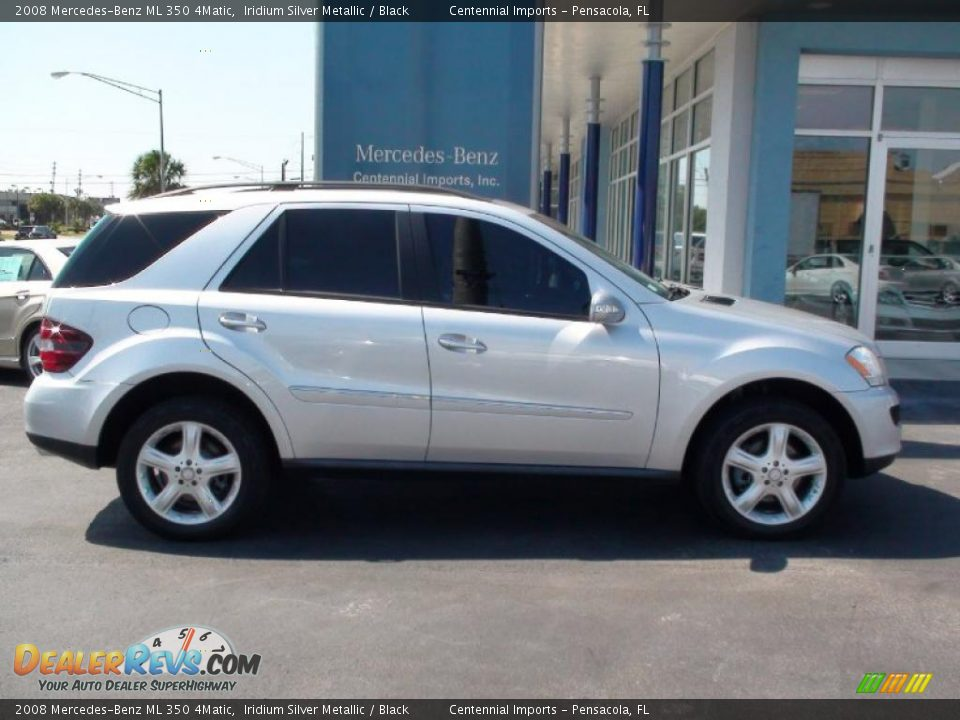 2008 mercedes benz ml 350 4matic iridium silver metallic for Mercedes benz ml 350 2008
