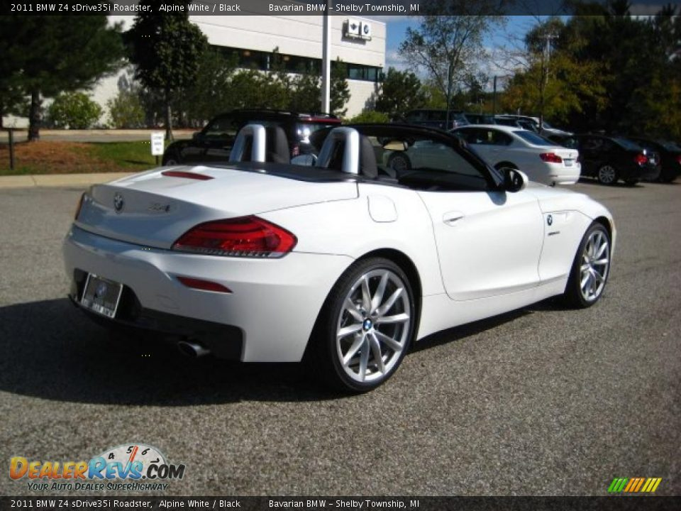 2011 Bmw Z4 Sdrive35i Roadster Alpine White Black Photo
