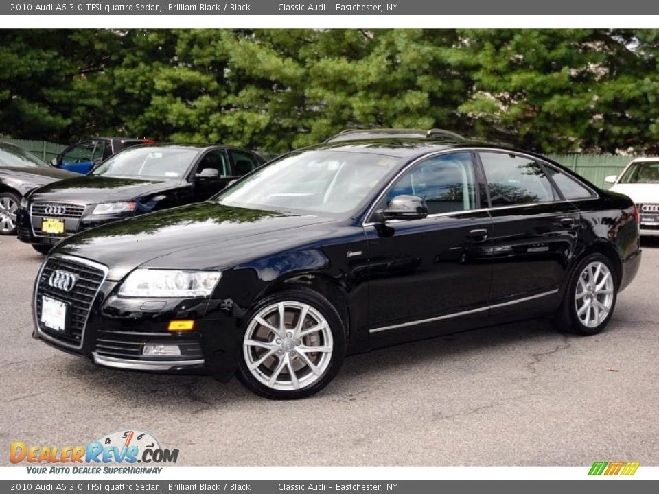 2010 audi a6 3 0 tfsi quattro sedan brilliant black black photo 2. Black Bedroom Furniture Sets. Home Design Ideas