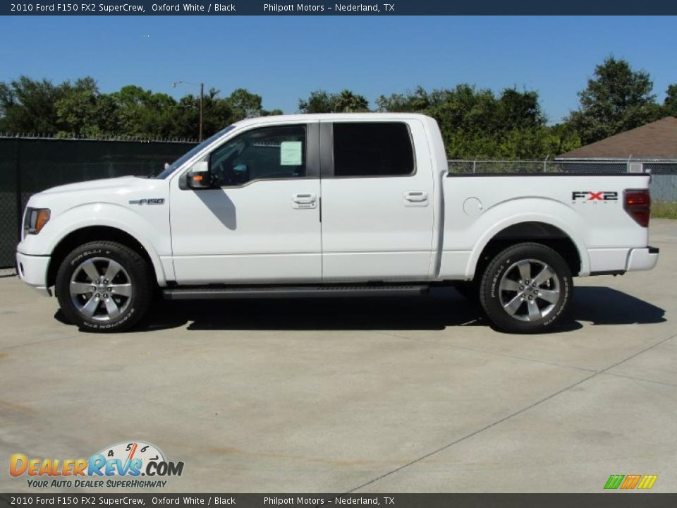 2010 ford f150 fx2 supercrew oxford white black photo 6. Black Bedroom Furniture Sets. Home Design Ideas
