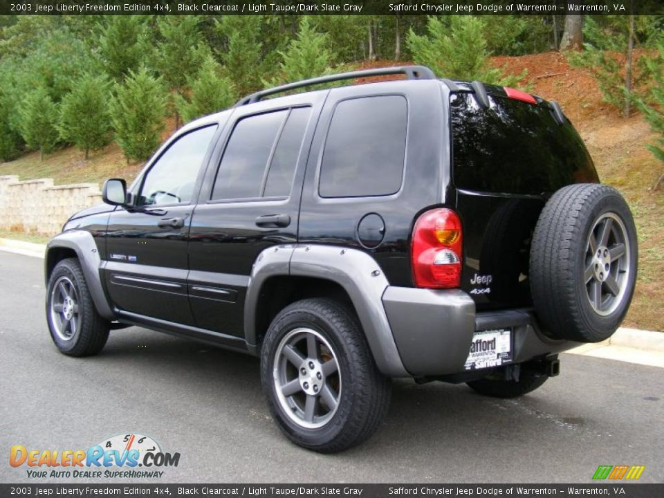 2003 Jeep Liberty Freedom Edition 4x4 Black Clearcoat