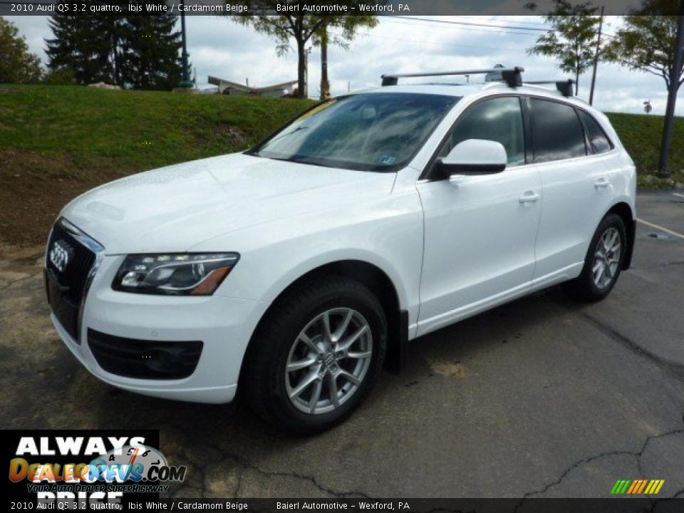 2010 Audi Q5 3 2 Quattro Ibis White Cardamom Beige Photo