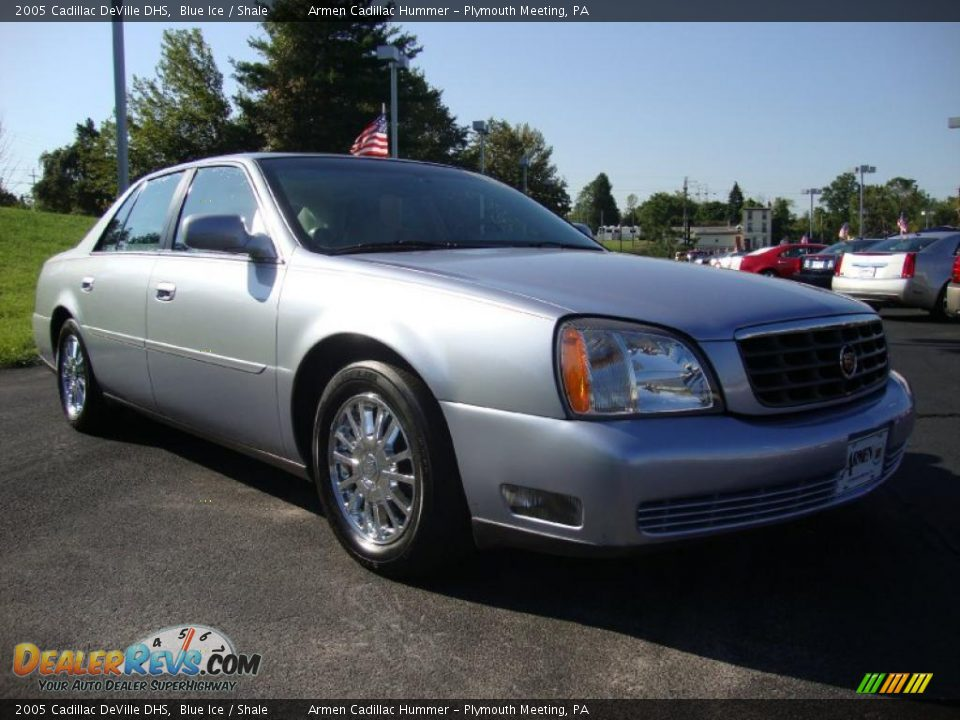 2005 cadillac deville dhs blue ice shale photo 5. Cars Review. Best American Auto & Cars Review