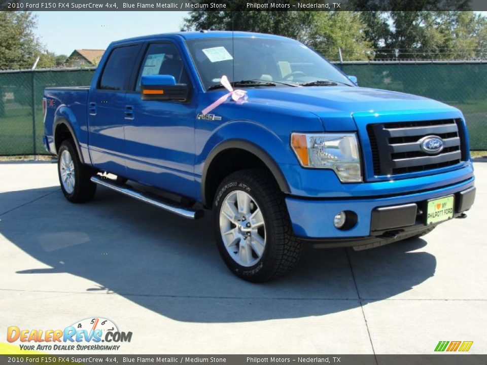 Ford F150 Fx4 Supercrew 4x4 In Blue Flame Metallic Autos Post