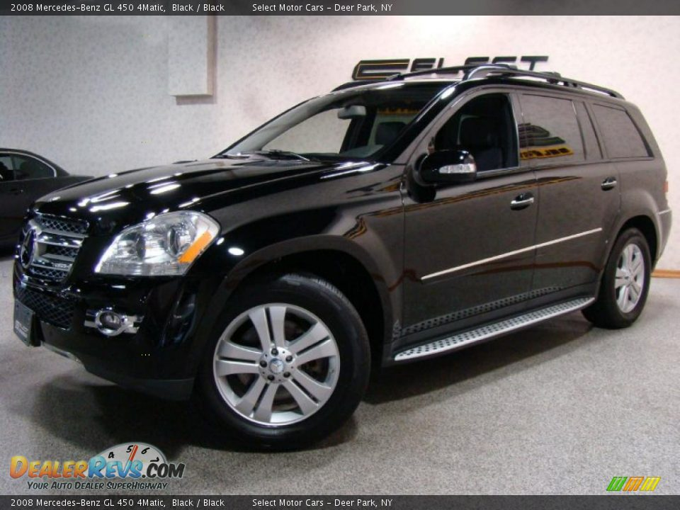 2008 mercedes benz gl 450 4matic black black photo 1 for 2008 mercedes benz gl450 4matic
