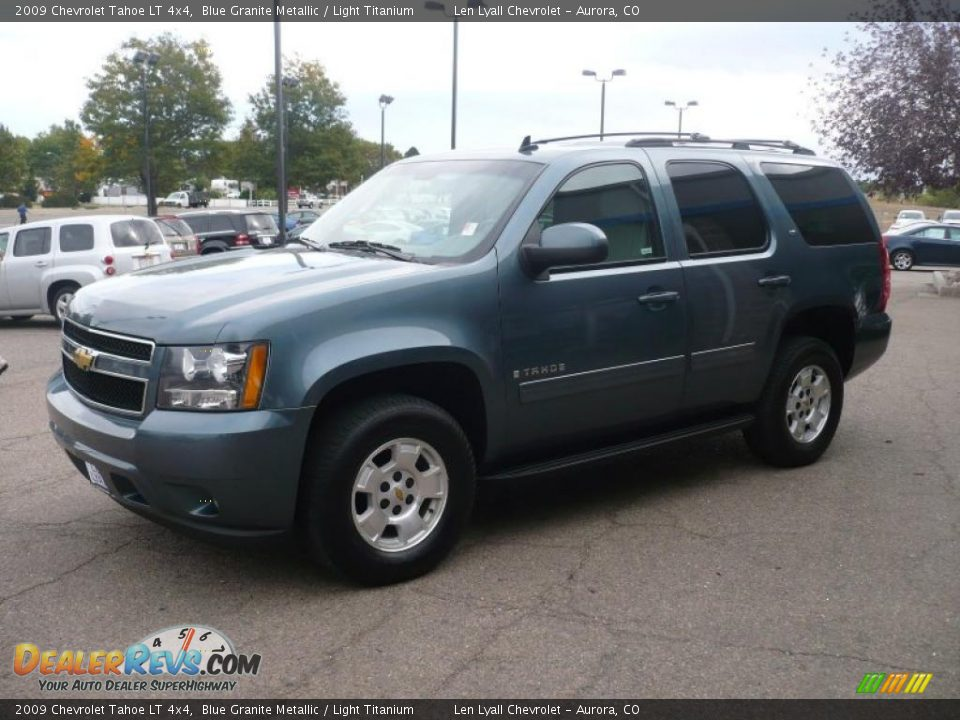 2009 Chevrolet Tahoe Lt 4x4 Blue Granite Metallic Light