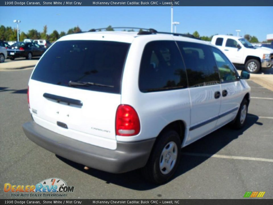 1998 Dodge Caravan Stone White Mist Gray Photo 4