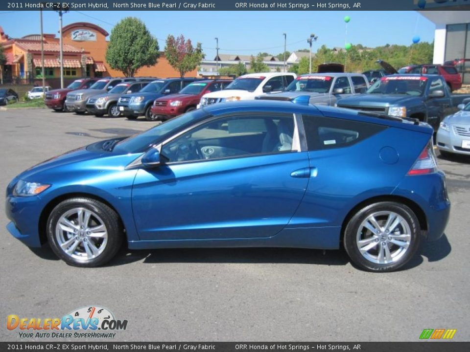 north shore blue pearl 2011 honda cr z ex sport hybrid