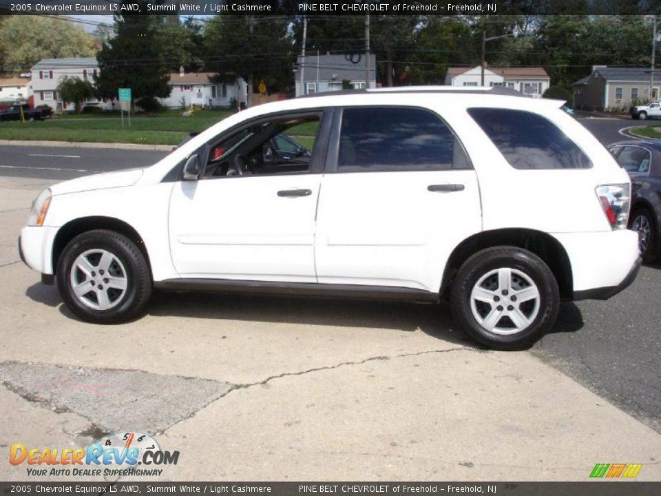 Chevrolet Equino Ls Awd Summit White Light Cashmere