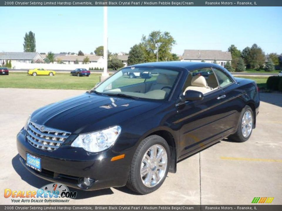 2008 Chrysler Sebring Limited Hardtop Convertible