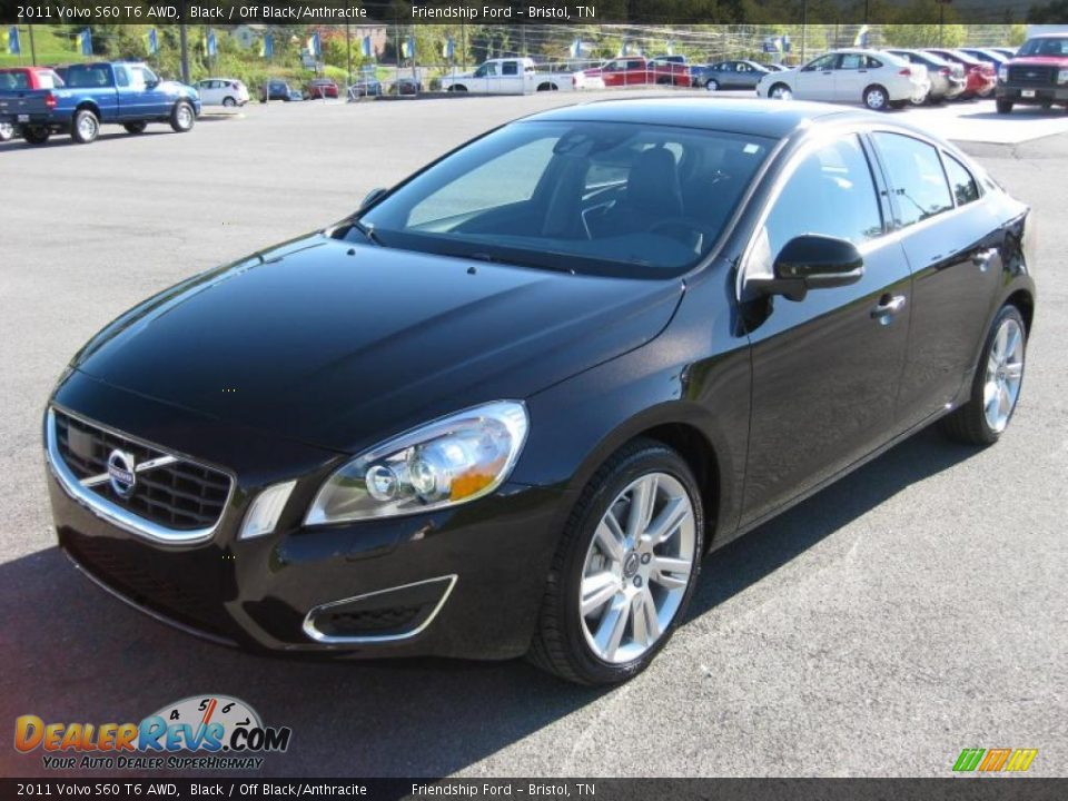 2011 volvo s60 t6 awd black off black anthracite photo. Black Bedroom Furniture Sets. Home Design Ideas