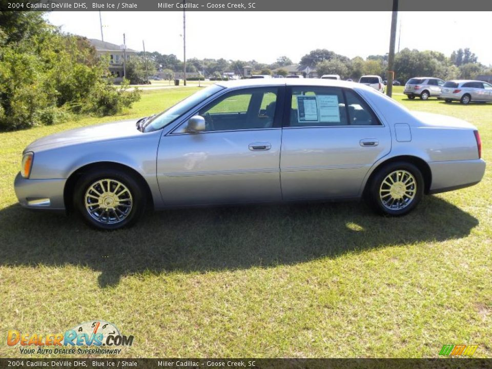 2004 cadillac deville dhs blue ice shale photo 2. Cars Review. Best American Auto & Cars Review