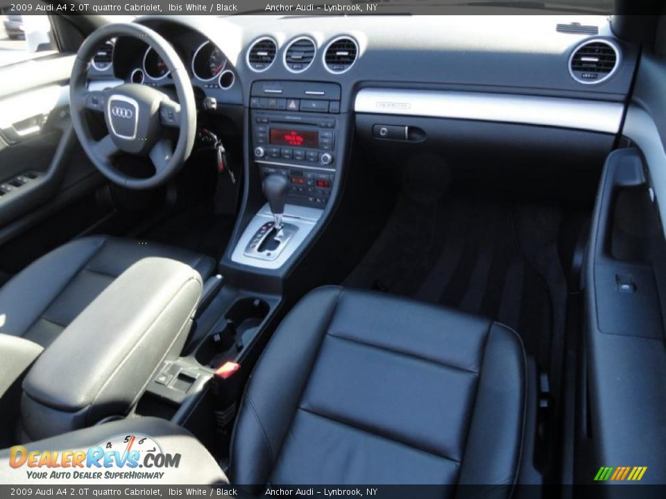 Black Interior 2009 Audi A4 2 0t Quattro Cabriolet Photo