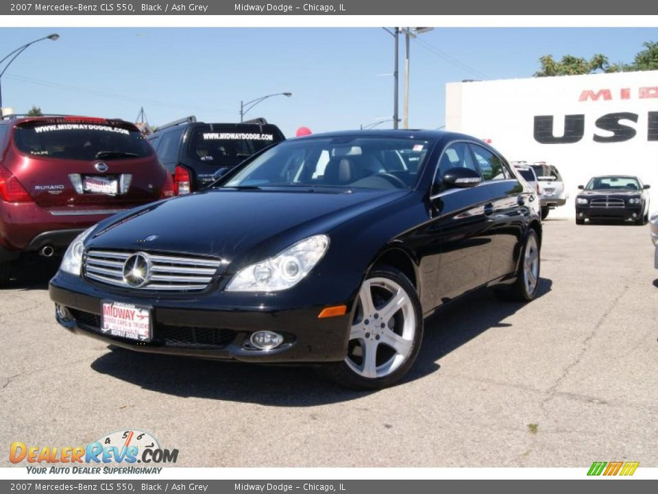2007 mercedes benz cls 550 black ash grey photo 2 for 2007 mercedes benz cls