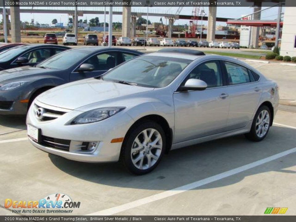 2010 Mazda Mazda6 S Grand Touring Sedan Brilliant Silver