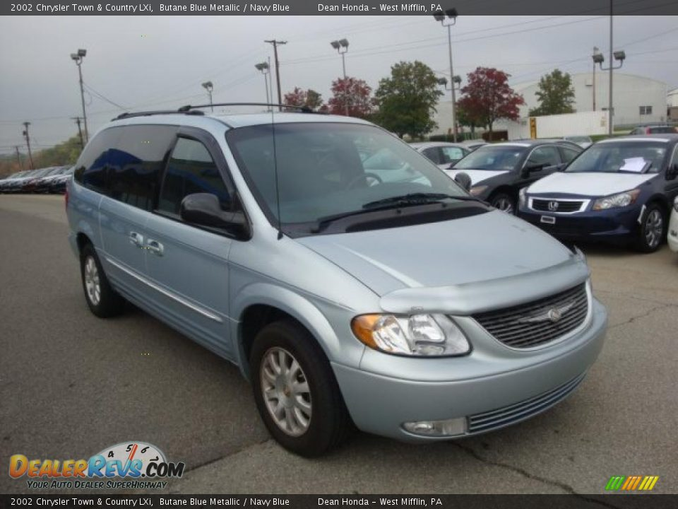 2002 chrysler town country lxi butane blue metallic. Black Bedroom Furniture Sets. Home Design Ideas