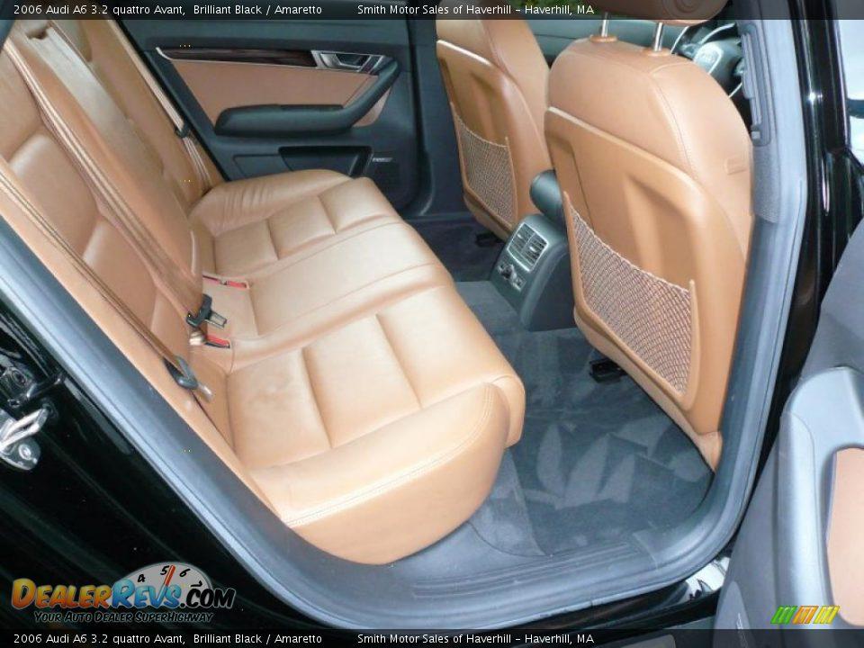 Amaretto Interior 2006 Audi A6 3 2 Quattro Avant Photo