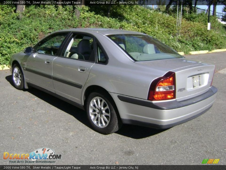 2000 Volvo S80 T6 Silver Metallic Taupe Light Taupe