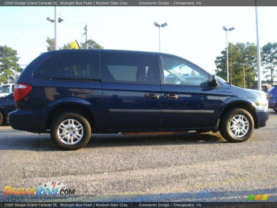 2006 Dodge Grand Caravan Se Midnight Blue Pearl Medium
