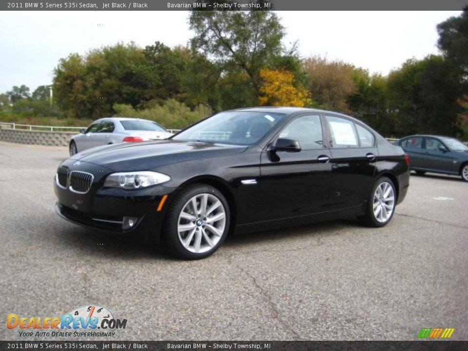 jet black 2011 bmw 5 series 535i sedan photo 1. Black Bedroom Furniture Sets. Home Design Ideas