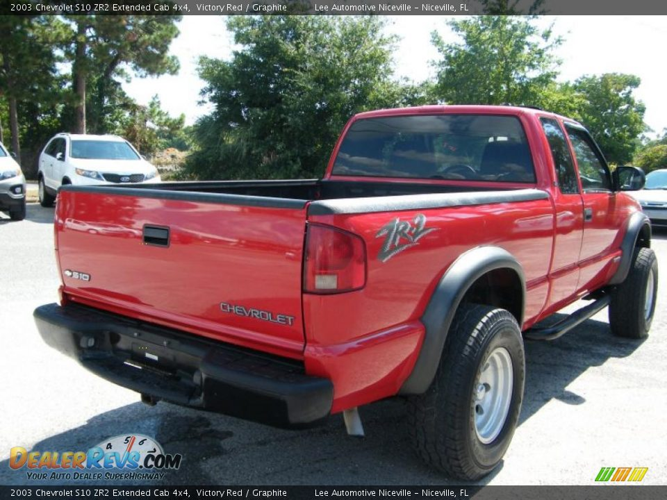 2003 chevrolet s10 zr2 extended cab 4x4 victory red graphite photo 5. Black Bedroom Furniture Sets. Home Design Ideas