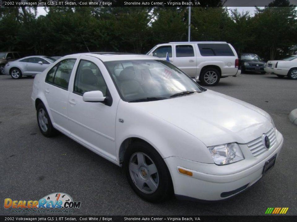 2002 volkswagen jetta gls 1 8t sedan cool white beige photo 7. Black Bedroom Furniture Sets. Home Design Ideas