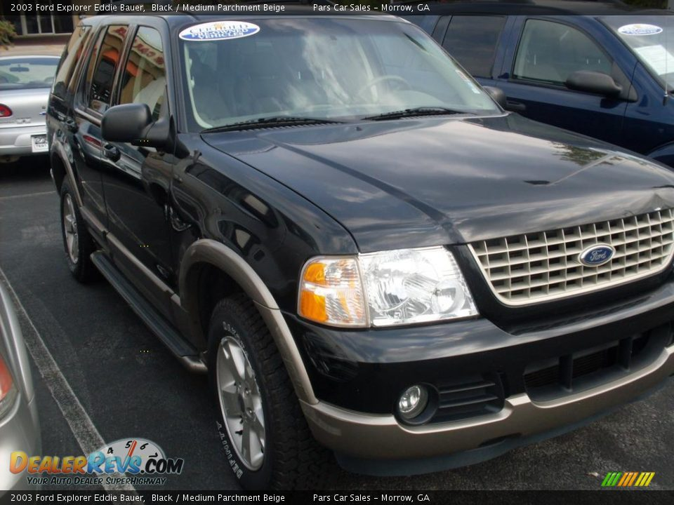 2003 ford explorer eddie bauer black medium parchment beige photo 3. Black Bedroom Furniture Sets. Home Design Ideas
