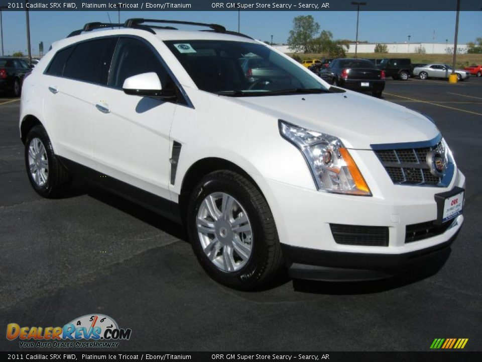 Platinum Ice Tricoat 2011 Cadillac Srx Fwd Photo 3