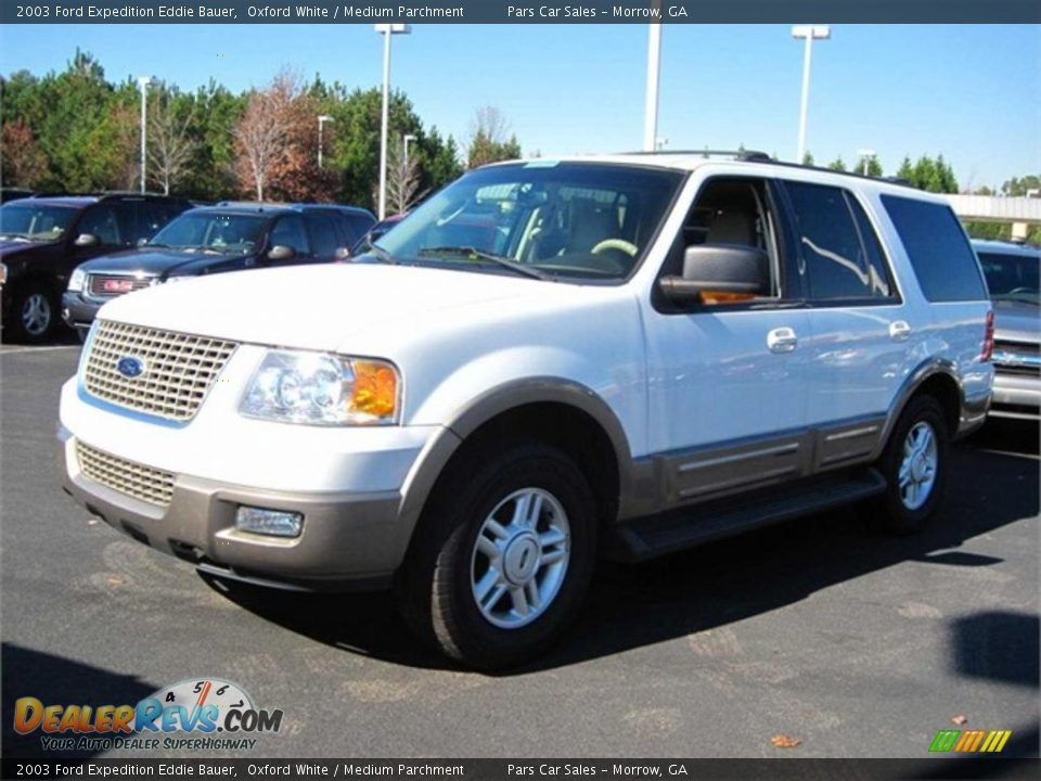 2003 ford expedition eddie bauer oxford white medium parchment photo. Cars Review. Best American Auto & Cars Review