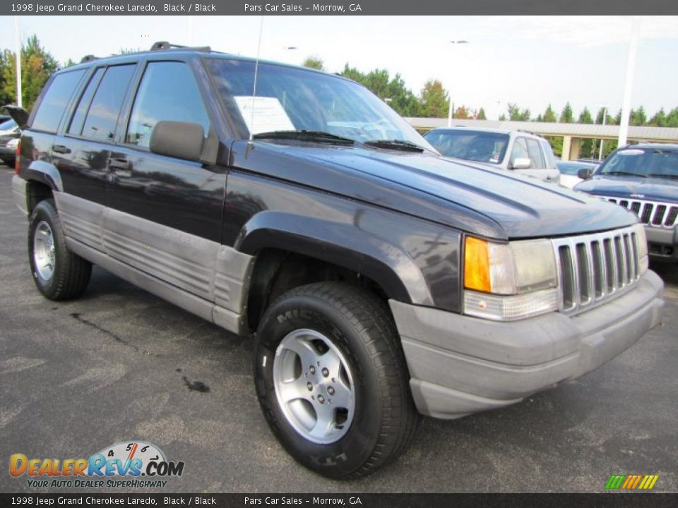 1998 jeep grand cherokee laredo black black photo 4. Black Bedroom Furniture Sets. Home Design Ideas