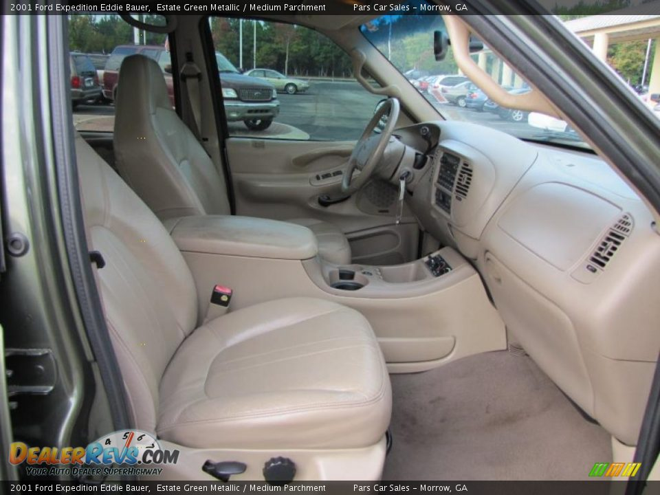 Medium Parchment Interior - 2001 Ford Expedition Eddie Bauer Photo #12