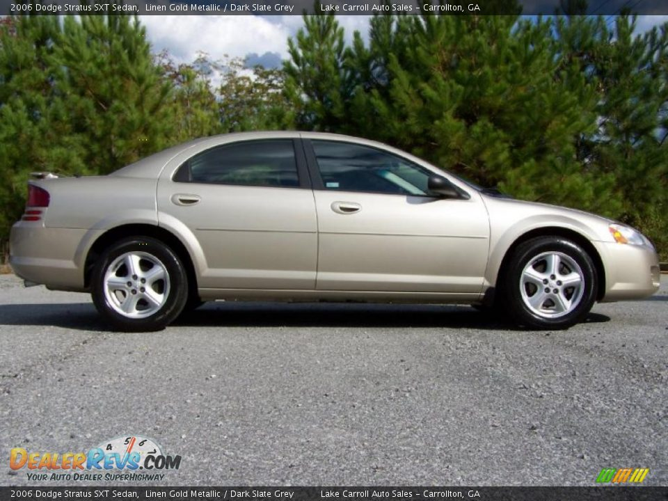 2006 dodge stratus sxt sedan linen gold metallic dark. Black Bedroom Furniture Sets. Home Design Ideas
