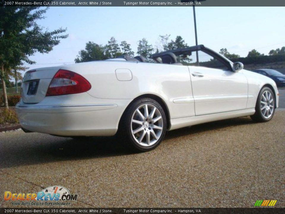 2007 mercedes benz clk 350 cabriolet arctic white stone for 2007 mercedes benz clk